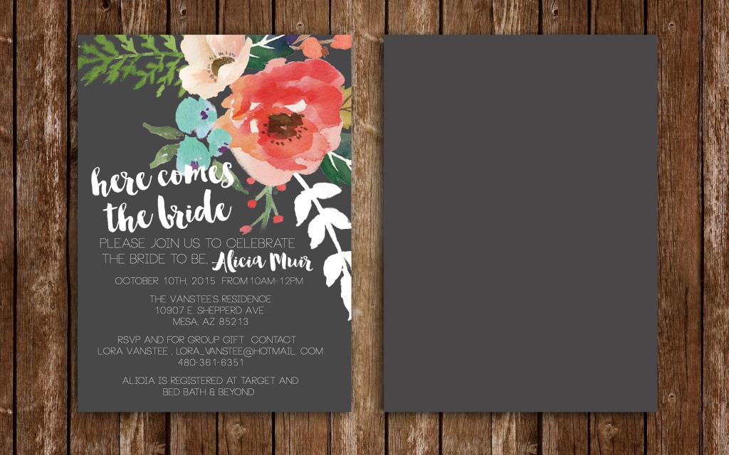 alicia bridal wood background